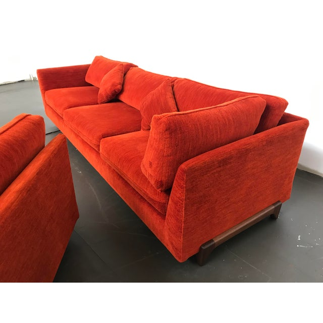 Wood Sectional Sofa by Adrian Pearsall for Craft Associates For Sale - Image 7 of 12