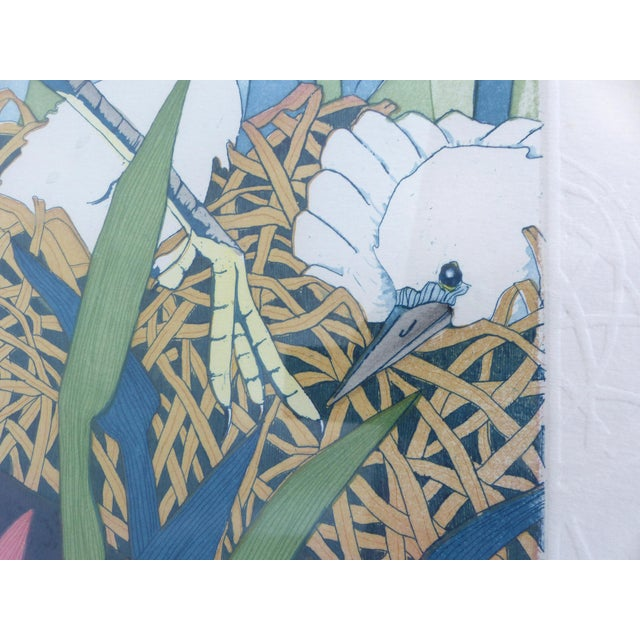 """Judith Hall """"The Rookery"""" Intaglio Print For Sale In Miami - Image 6 of 10"""