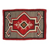 Image of Early 20th Century Antique Navajo Rug- 3′8″ × 5′3″ For Sale