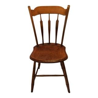 Antique 1840's Arrow Back/Stick Back Windsor Side Chair For Sale