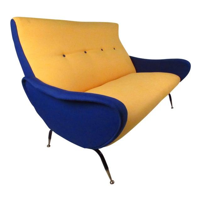Italian Modern Zanuso-Style Sofa - Image 1 of 9