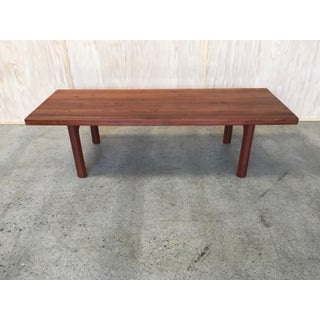 Danish Modern Solid Teak Bench Preview