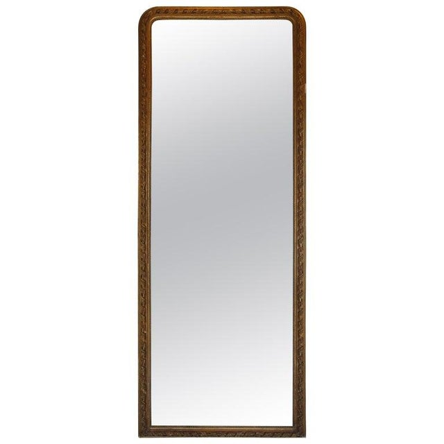 19th Century French Gold Louis Philippe Mirror For Sale - Image 10 of 10