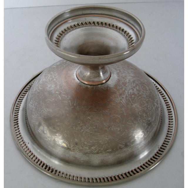Silver & Copper Decorative Coupe For Sale In Los Angeles - Image 6 of 7