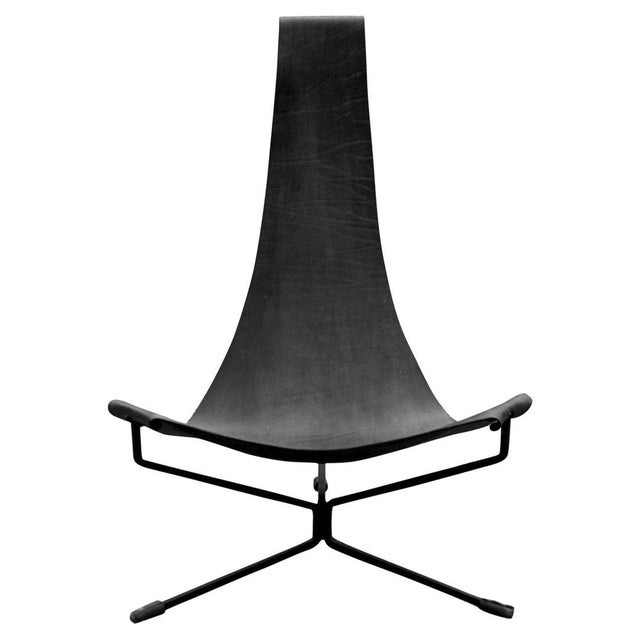 Mid-Century Modern Large Lotus Chair by Dan Wenger For Sale - Image 3 of 5