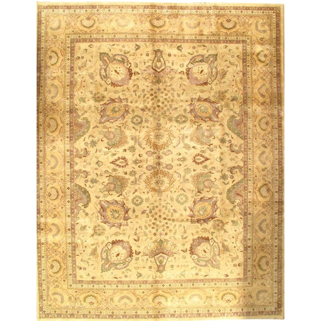 "Pasargad NY Sultanabad Design Hand-Knotted Rug - 9'2"" x 12' - Image 1 of 2"
