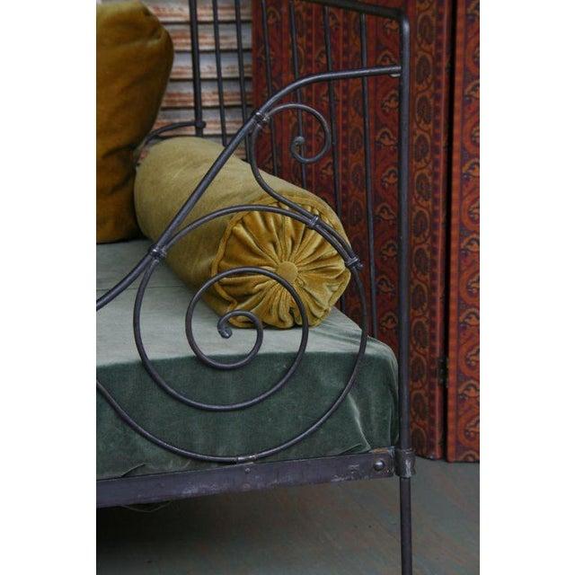 Folding Iron Bed - Image 4 of 9