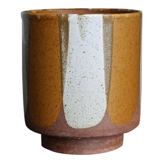 "David Cressey ""Flame Glaze"" Planter for Architectural Pottery Circa 1965e For Sale"