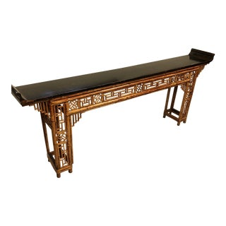 Antique Asian Console For Sale
