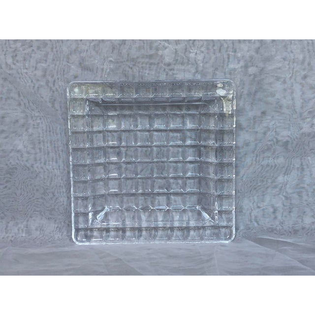 1950s Mid-Century Modern Glass Tray For Sale - Image 11 of 12