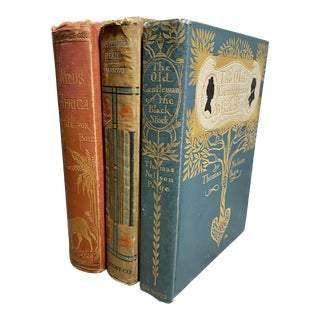 Early 20th Century Antique Books - Set of 3 For Sale