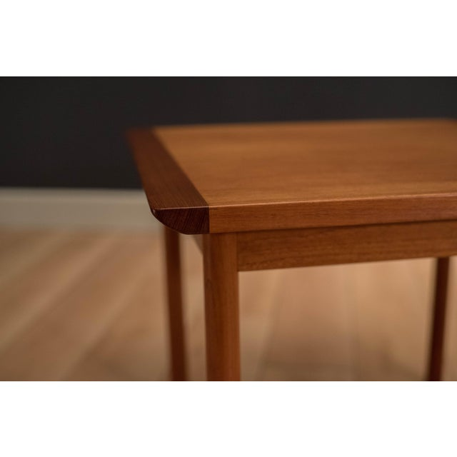 1960s 1960s Mid-Century Modern Westnofa Teak Side Table For Sale - Image 5 of 12