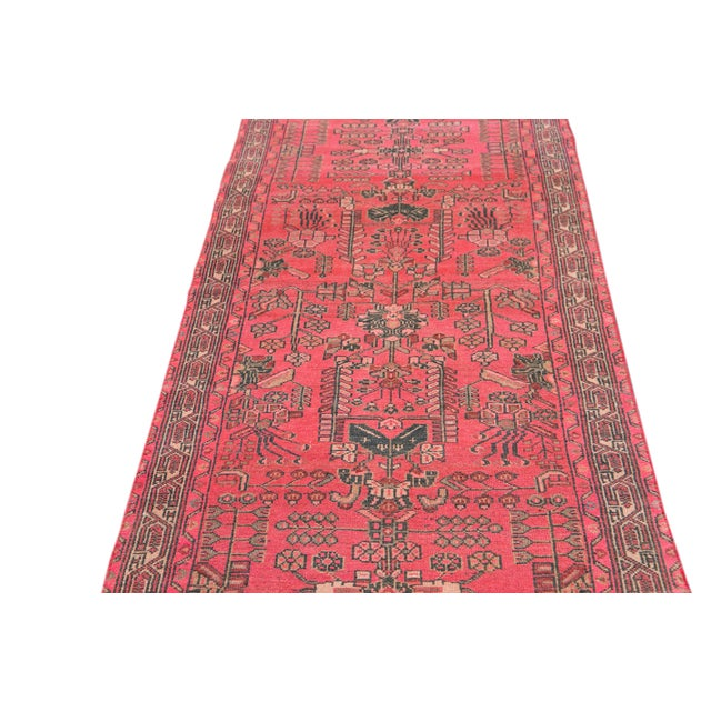 Vintage Malayer Wool Runner For Sale - Image 10 of 11