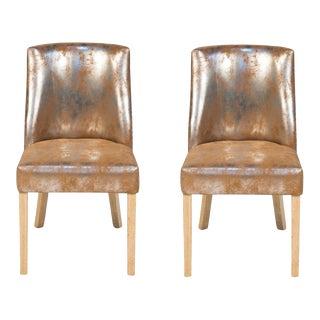 Sarreid LTD Dallas Chairs - A Pair For Sale