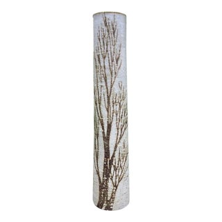 A Tall 1970s Birch Tree Studio Pottery Vase