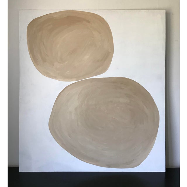 Rounded Abstract Oversized Painting For Sale In Los Angeles - Image 6 of 6