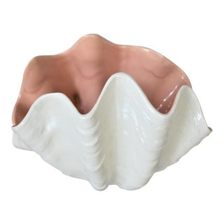 Vintage Clam Shell Bowl For Sale