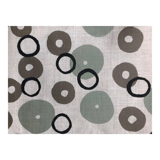 Galbraith & Paul Donut Pattern Fabric - 2 Yards For Sale