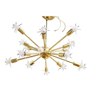 Sputnik Starburst Chandelier For Sale