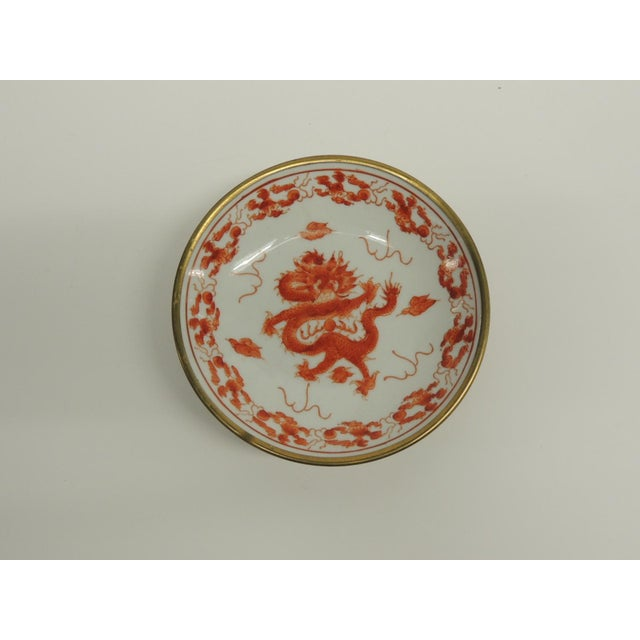 Small Vintage Japanese Decorative Ceramic Plate - Image 2 of 4