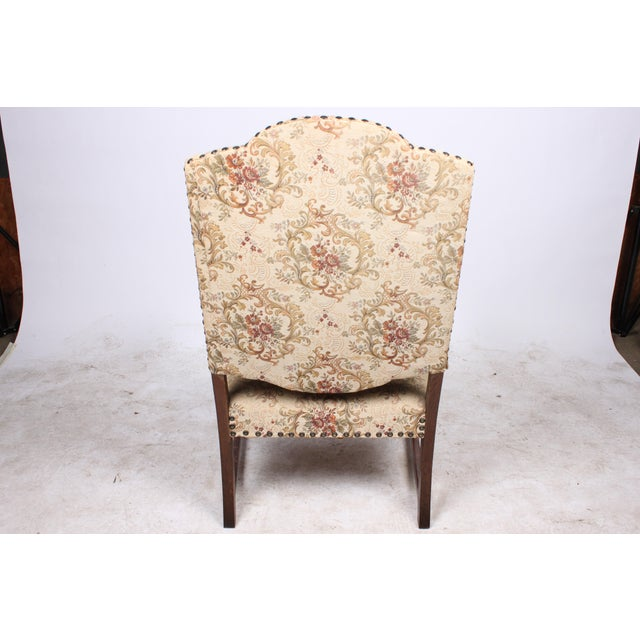 William and Mary Style Armchair For Sale - Image 4 of 5