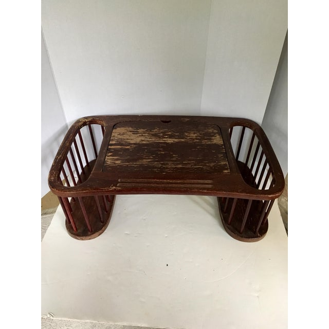 Vintage Magazine Stand With Adjustable Reading Stand For Sale - Image 10 of 11
