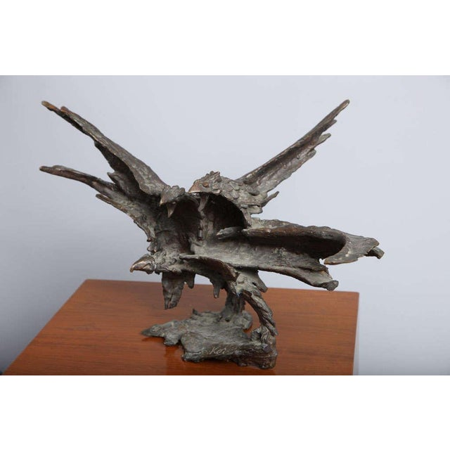 George Koras Ravens Sculpture For Sale In Miami - Image 6 of 8