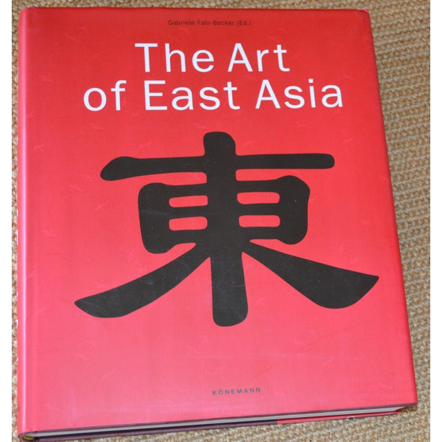 """""""The Art of East Asia"""" Hardcover Dust Jacket Book Koenemann Coffee Table Book Red Black For Sale - Image 11 of 11"""
