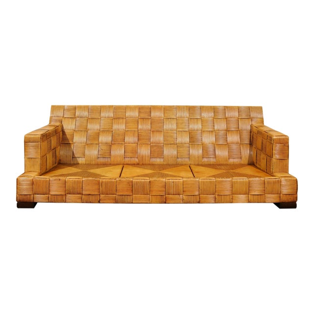 Stunning Block Island Collection Sofa by John Hutton for Donghia, circa 1995 For Sale