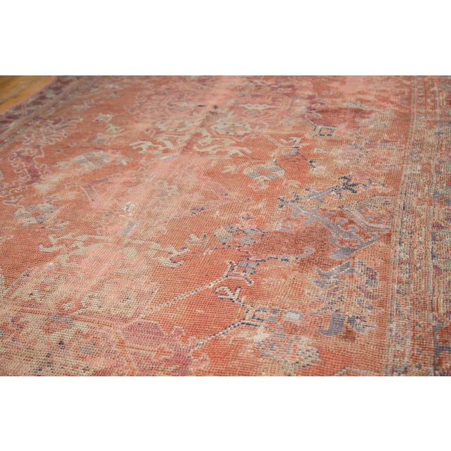 "Distressed Oushak Carpet - 5'4"" X 8' - Image 8 of 9"