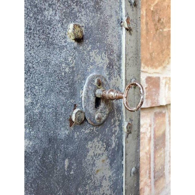 Mid 19th Century Iron Cellar Door For Sale - Image 9 of 11