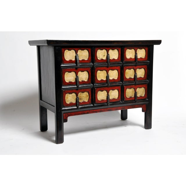 Chinese Side Chest with Nine Drawers For Sale - Image 13 of 13