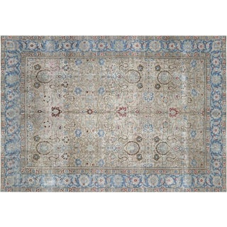 "1940s Persian Tabriz Carpet - 8'10"" X 12'8"" For Sale"