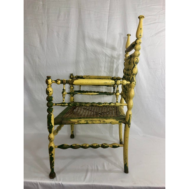 American American Fancy Spindle Chair For Sale - Image 3 of 7