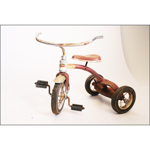 Vintage Rustic Metal Child's Tricycle - Image 4 of 11