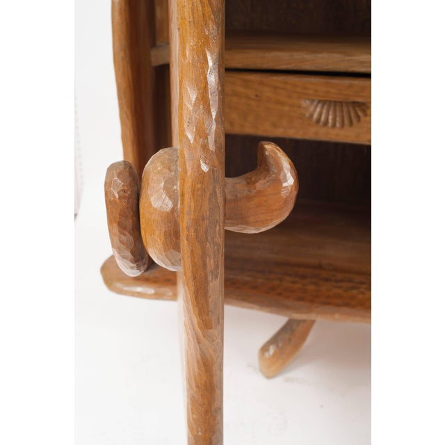 Adirondack French Rustic Adirondack Style Chipped Pine Sideboard For Sale - Image 3 of 5