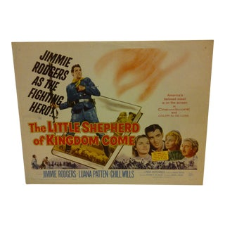 1960 Vintage Movie Poster For Sale