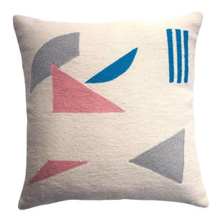 Geometric Whitney Pieces Pillow Cover