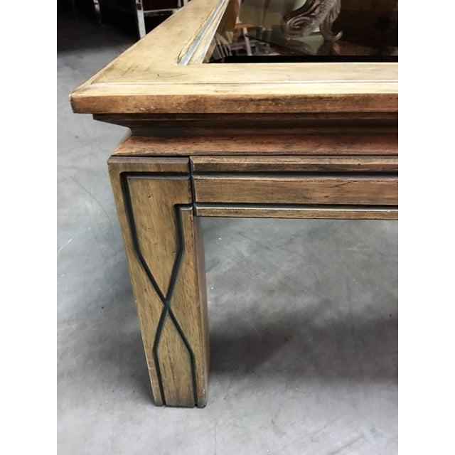Southwestern Beveled Glass Coffee Table - Image 5 of 11