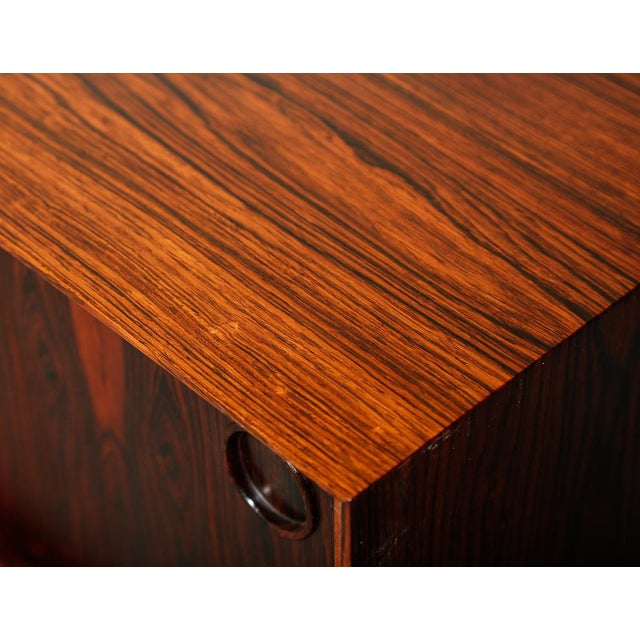 Bruksbo Slim Rosewood Credenza by Haug Snekkeri For Sale - Image 4 of 11