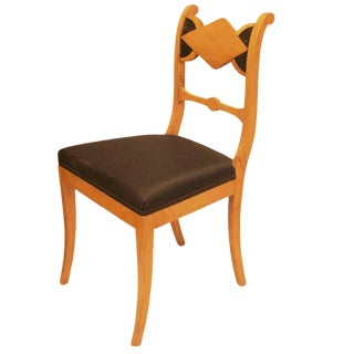 Set of Six Biedermeier Dining Chairs For Sale