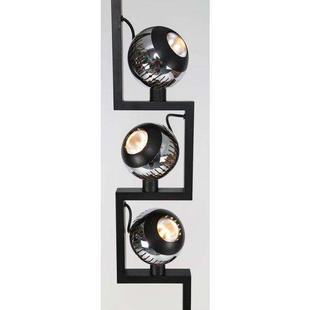 Industrial 1970S VINTAGE ANGELO LELLI FOR ARREDOLUCE FLOOR LAMP For Sale - Image 3 of 6