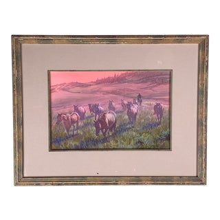 """""""Dawn of Warm Light"""" by Jack Hines Southwestern Art For Sale"""
