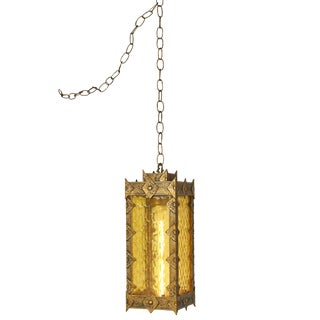 Gothic Revival Swag Pendant