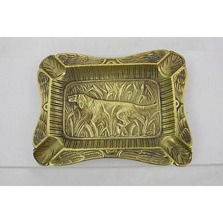 Antique French Hound Ashtray Preview