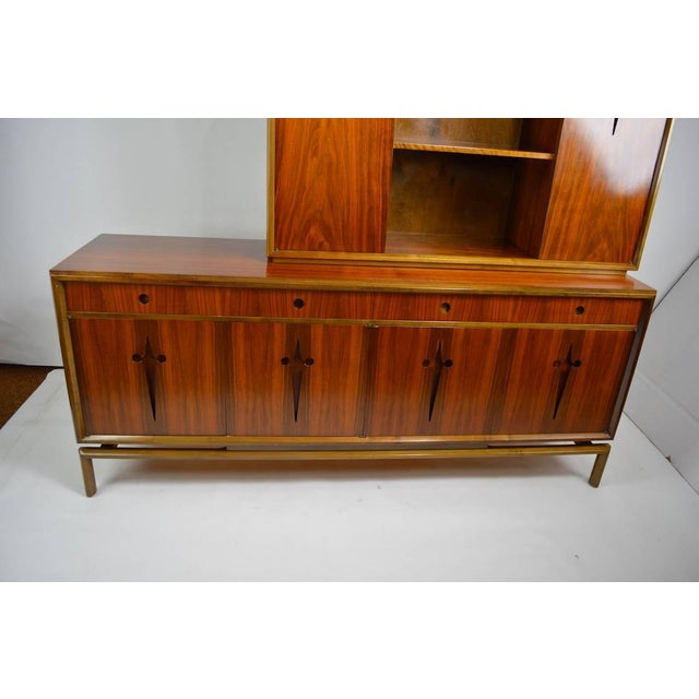Mid-Century Modern Edmund Spence Credenza Breakfront For Sale - Image 3 of 9