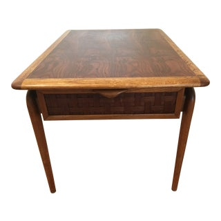 "Vintage Mid-Century Modern Lane ""Perception"" Side Table For Sale"