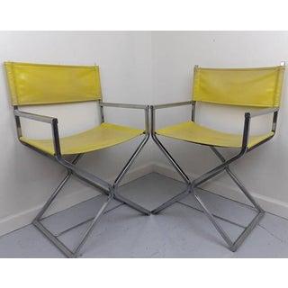 Robert Kier Jakobsen Director's Chairs - A Pair Preview
