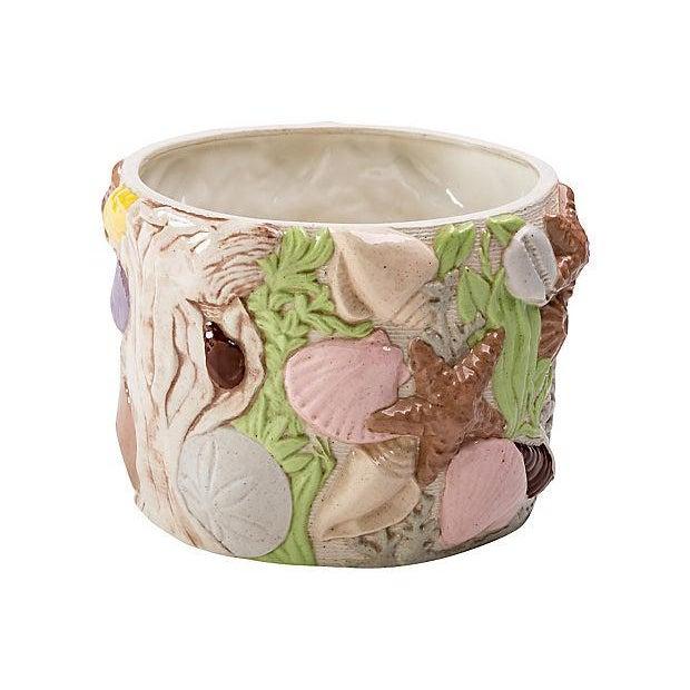 """Under the Sea"" Ceramic Planter For Sale - Image 4 of 10"