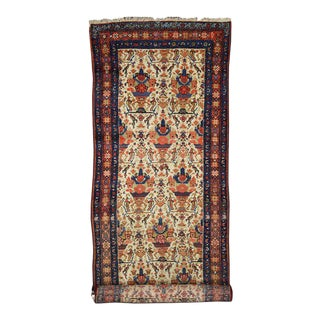Antique Persian Malayer Carpet Runner, Long Persian Runner